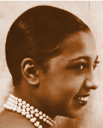 Josephine Baker Eton Crop