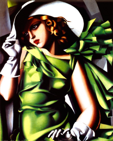 Art Deco in the 1920s - Tamara Lempicka