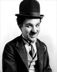 1920s movie star - Charlie Chaplin