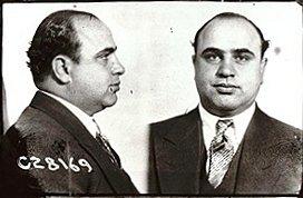 1920s Gangster - Al Capone's Mugshot
