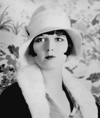 Louise Brooks Dressed in Cloche Hat