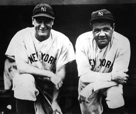1920s yankees - gherif and ruth