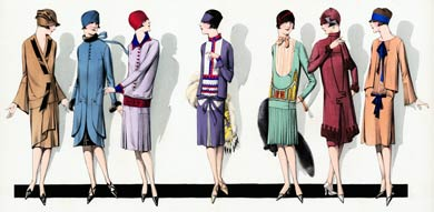 1920's Fashion: Women's Dress Styles