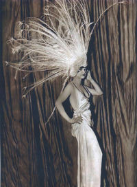 New York Broadway Shows - Louise Brooks Dressed In Peacock Feathers
