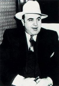 Well Dressed: Al Capone Laughing
