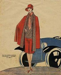 coco chanel art deco fashion designs