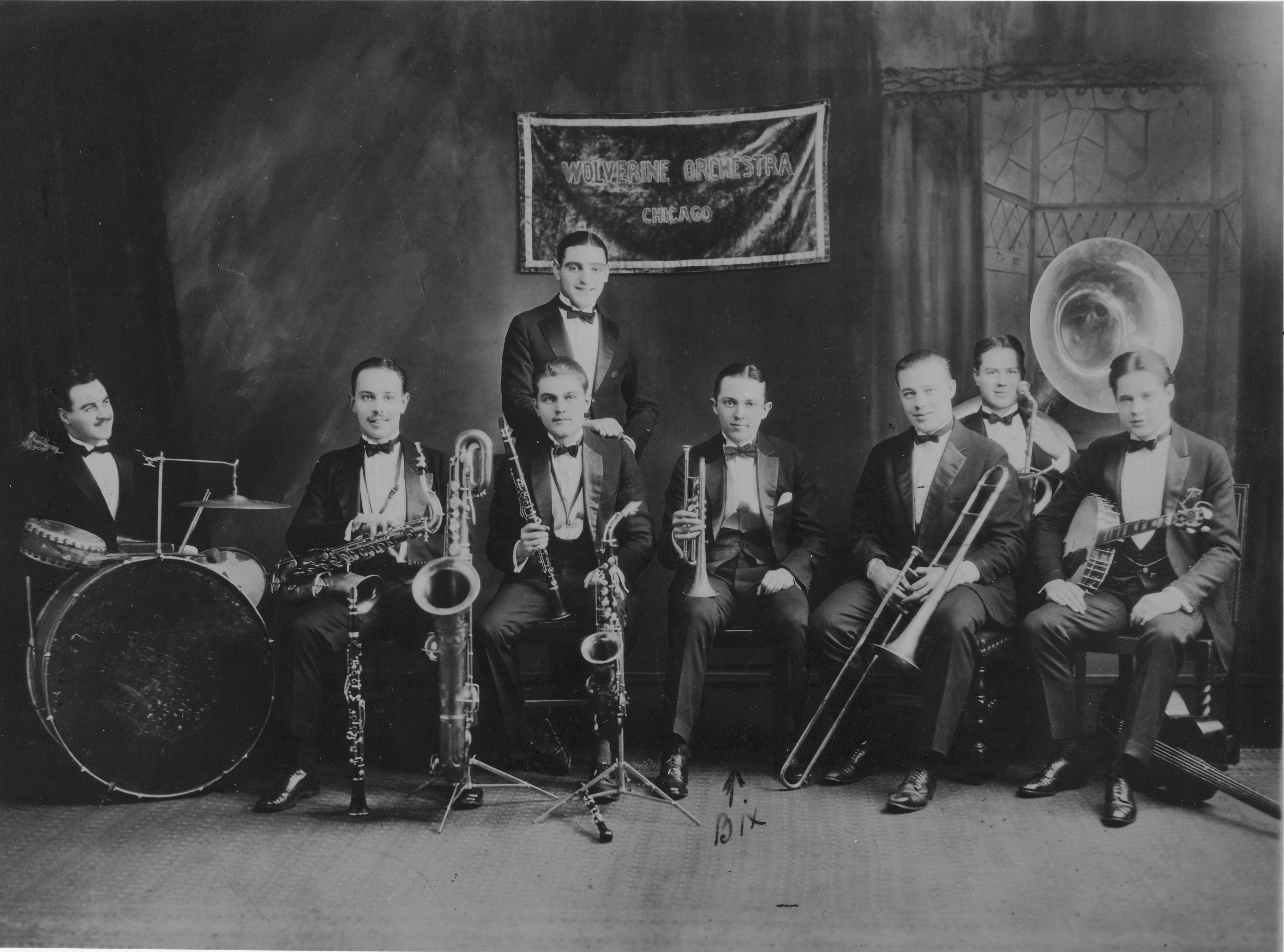 an unnamed jazz group from the 1920's