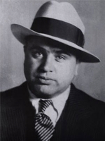 Al Capone: Trademark Fedora and Tie