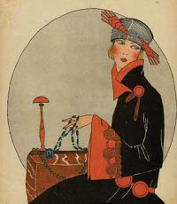 Art Deco in the 1920s: Oriental Style