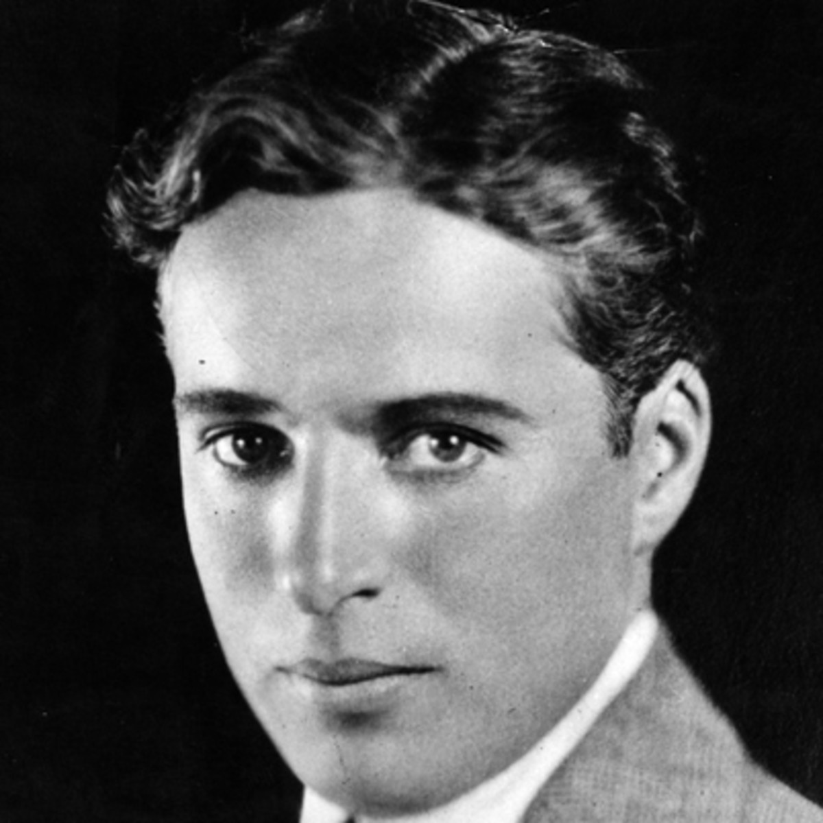 Chaplin young, and without his general getup