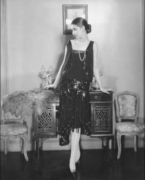 The little black dress is originally a coco chanel 1920s flapper style dress