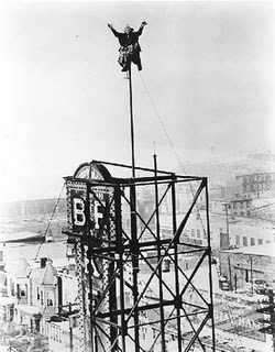1920s Pop Culture - Flagpole Sitting