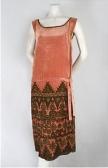 1920s vintage beaded dress