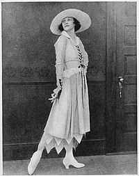 Irene Castle was a famous ballroom dancer and important flapper of the 20s