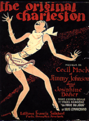 Josephine Baker - charleston dance