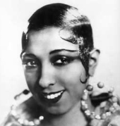 the eton crop was based off a boys boarding school cut, it was very striking and was made more prolific by josephine baker