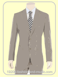 Men's Linen suits illustration