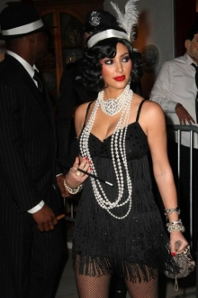 roaring twenties fashions kim k and reggie bush