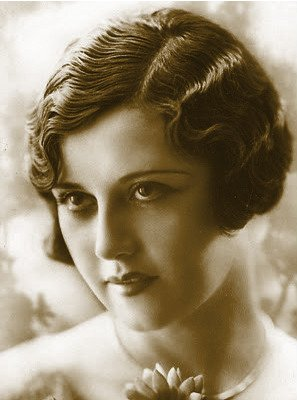 Hairstyles of prior decades were trumped by atypical hairstyles of the 1920's like this fingerwave design