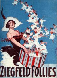New York Broadway Shows - Ziegfeld Follies