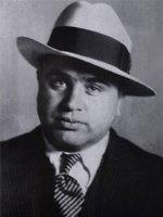 Al Capone in a Fedora