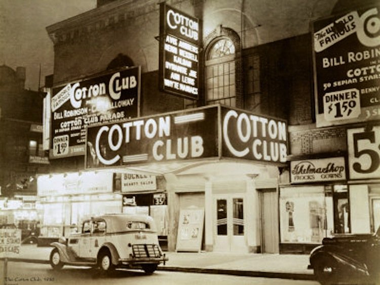 The cotton club was a popular new york nightclub in the 1920s