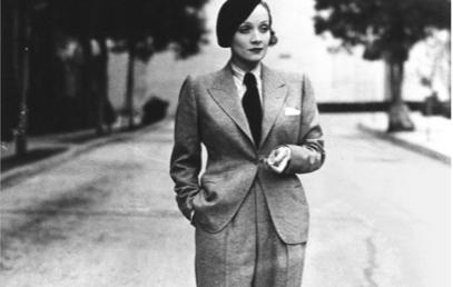 la garconne 1920s suit style