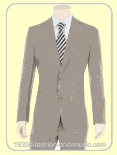 Men's Linen suits illustration